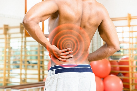 Your sciatic nerve pain can cause a stiff back.