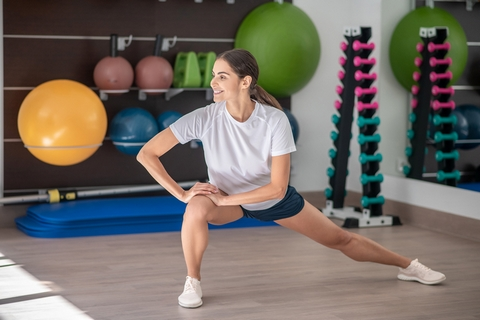 Stretching is a good home remedy for joint and muscle pain.