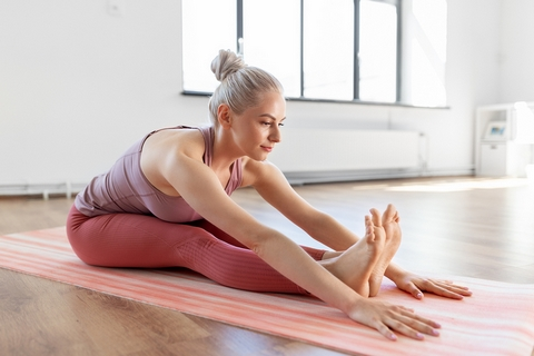 Yoga is a great home remedy for joint and muscle pain.