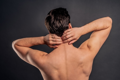 Stretches for neck and upper back