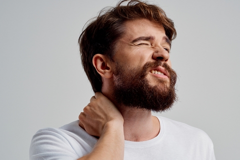 A headache is one of the pulled neck muscle symptoms.