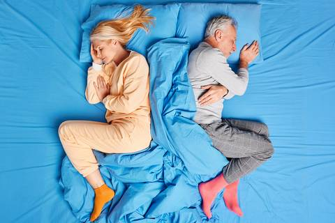 Sleeping in the fetal position can be a good sleeping posture.