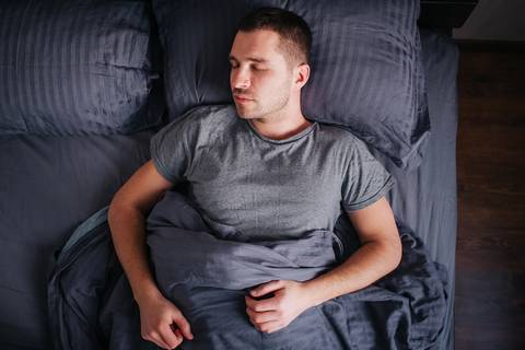 Sleeping on your back is the best sleeping position to improve posture.